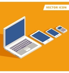Computer tablet smart-phone vector