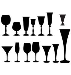 Goblet vector image