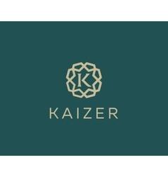 Premium letter k logo icon design luxury vector