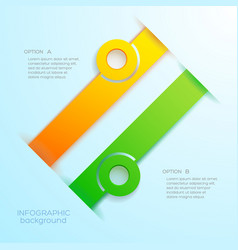 web infographic abstract business concept vector image vector image