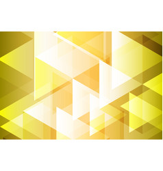 yellow gold geometry abstract background vector image