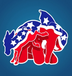 democratsandrepublicans380x400thumb vector image