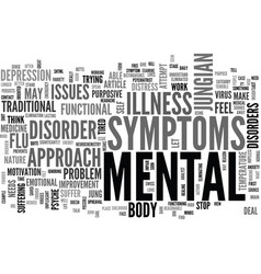 A jungian approach to mental illness text word vector