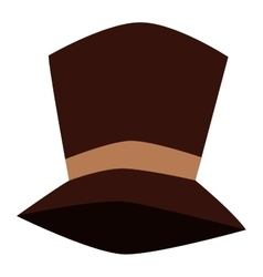 Tall hat vector