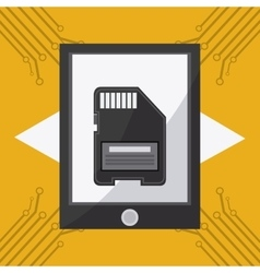 Technolog and devices design vector