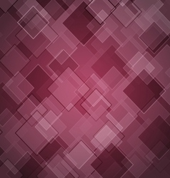 Abstract maroon background with rhombus vector