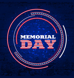 memorial day3 vector image vector image