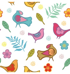 birds vector image