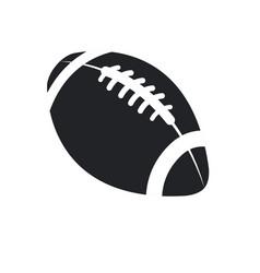 American football ball sport play equipment vector