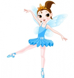 Fairy ballerinas vector