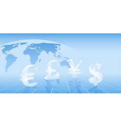 money background vector image vector image