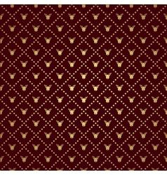 Reindeer pattern vector image