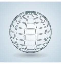 Sphere icon design vector