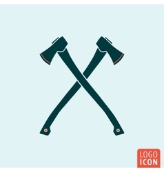 Axe icon isolated vector