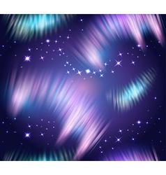 Northern lights seamless vector