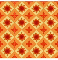 Seamless ornamental tile background vector