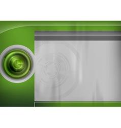 Template green target vector