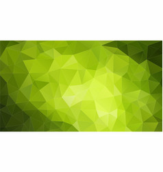 Green colors mosaic pattern stock image vector