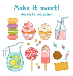 Make it sweet vector image
