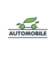 Logo car vector