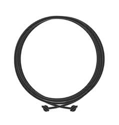 Round rope node frame vector image