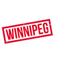 Winnipeg rubber stamp vector