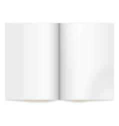 book spread vector image