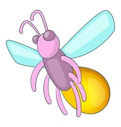 Firefly icon cartoon style vector