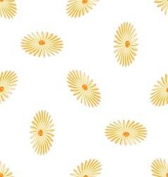 seamless romashki vector image vector image