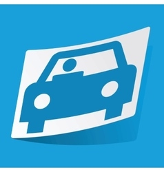 Car sticker vector