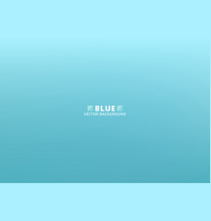 Abstract blurred blue turquoise gradient with vector