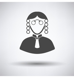 Judge icon vector