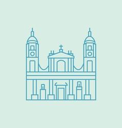 Bogota vector image