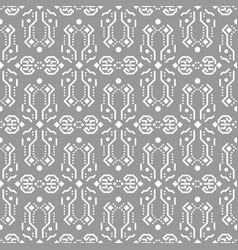 Abstract tribe ornament seamless pattern vector