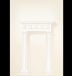 architectural background eps10 vector image vector image