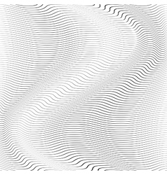 Background Wave Stripe vector image vector image