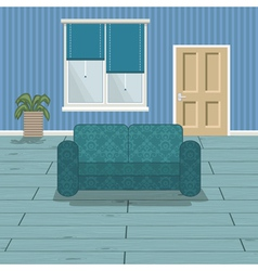 blue room vector image vector image