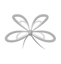 Knot ribbon decoration and other web icon in vector