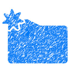 New folder grunge icon vector