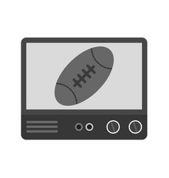 Rugby match vector