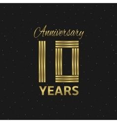 Anniversary vector image