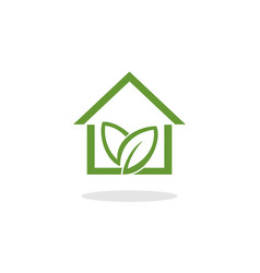 home green vector image