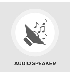 Speakers icon flat vector image