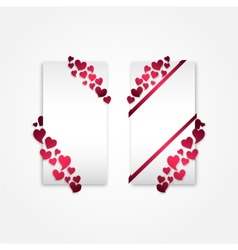 Valentines-cards vector image