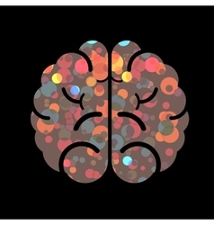 Abstract brain nice element for design vector