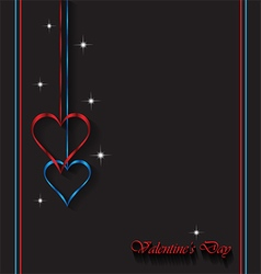 Valentines day card background vector