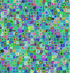 Abstract irregular rectangle mosaic background vector