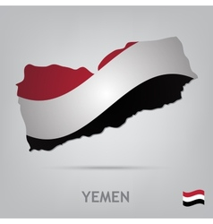 country yemen vector image vector image