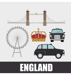 england culture design vector image vector image