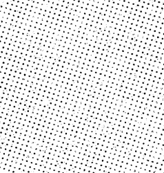 Grunge halftone print pattern background vector image vector image